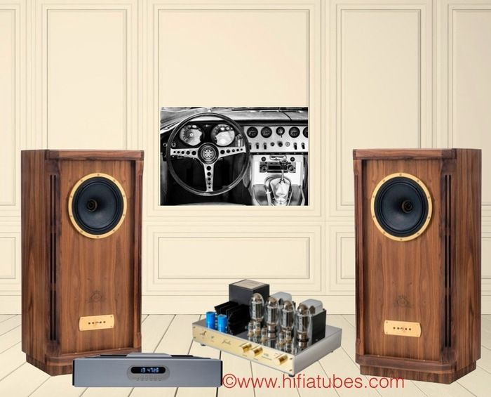 Chaines hifi tubes(lampes) avec: Platine CD ICOS Fado Init - Amplificateur tubes KT150 JADIS I50 -