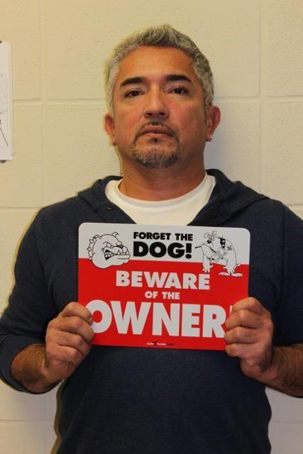 Cesar Millan - I concur... I'm fairly certain I'm more dangerous than our dog...