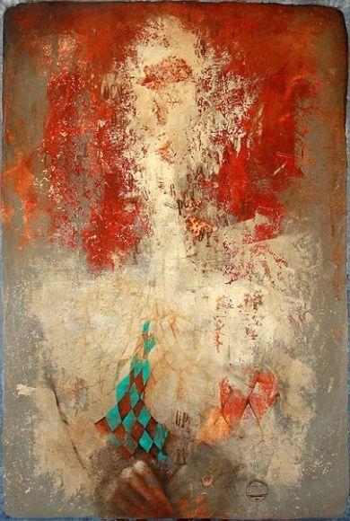 MAGICUS, 120x80 cm, mixed media