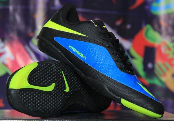 Nike Hypervenom Hitam Biru KW Super Sol Rp 200.000 BB : 277D5CC1 | call : 0856 5879 0893 http://sepatufutsalpremium.com