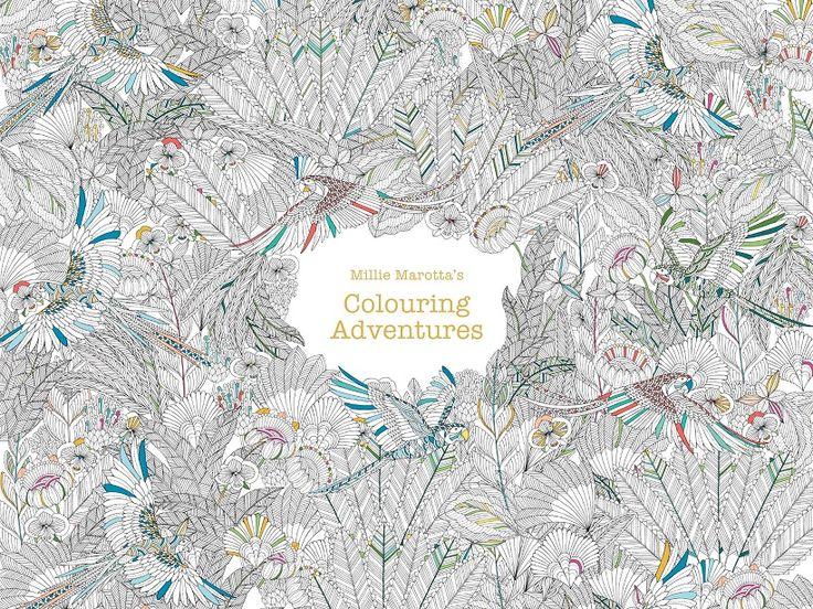 Millie marotta s colouring adventures coloriages - Coloriage minutieux ...