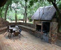 Barbeque Area at Berg-en-Dal Restcamp