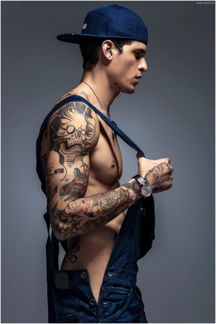Diego Fragoso Shows Off Tattoos in New Lifestyle Summer 2015 Cover Shoot