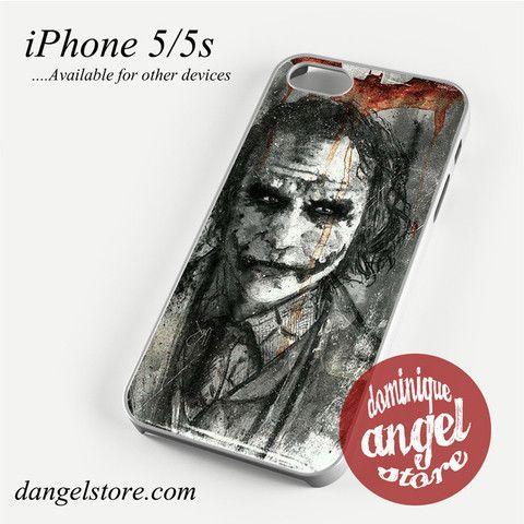 The Joker art 2 Phone case for iPhone 4/4s/5/5c/5s/6/6 plus