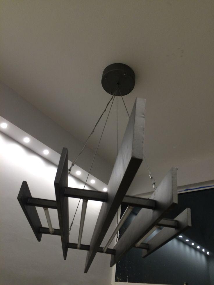 Custom roof light for Globe One Digital meeting room By Lavatsis.