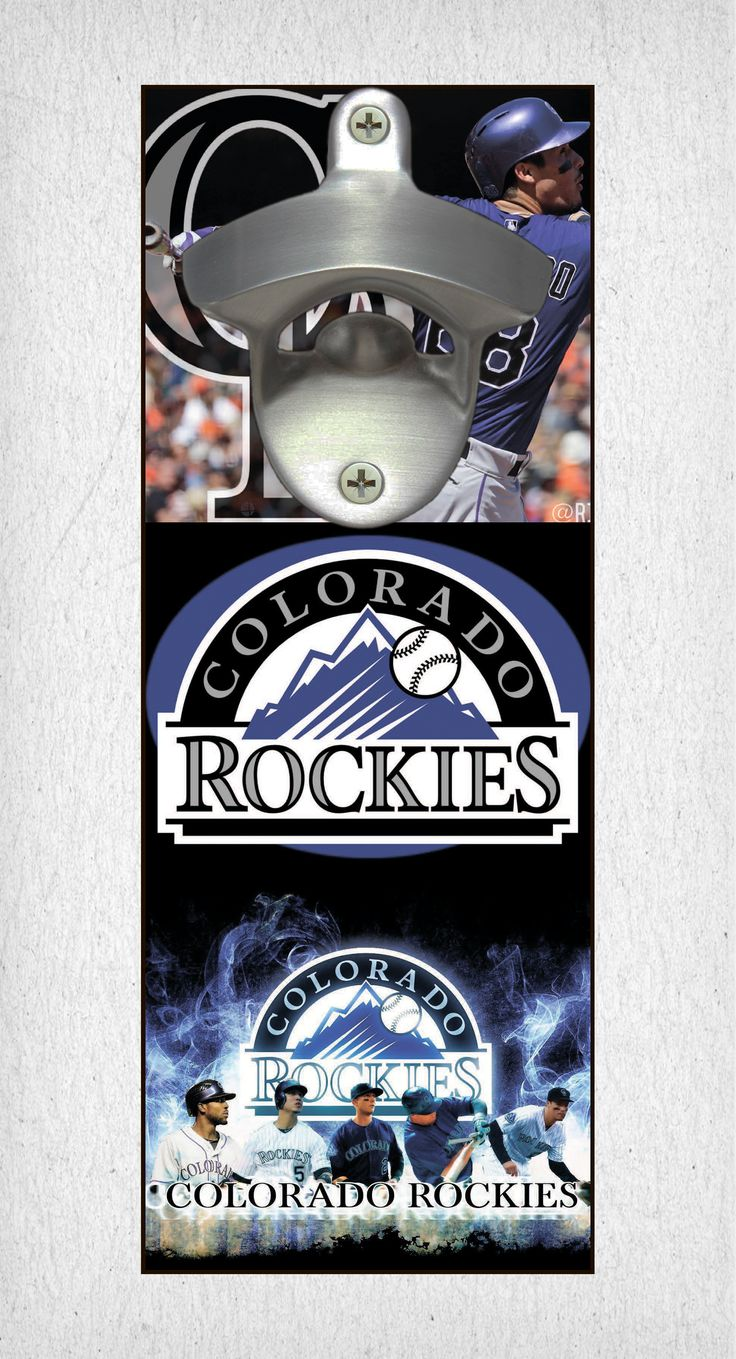 This Colorado Rockies bottle opener can be a great gift to any sports fan. It's the perfect addition to any man cave, bar area, kitchen, or to just put out while watching the big game. It is also a great groomsmen gift. Colorado Rockies Wall Mount Bottle Opener Colorado Rockies Cap Catcher Colorado Rockies Wall Opener Colorado Rockies Beer Opener Colorado Rockies Wall Art Colorado Rockies Craft Colorado Rockies Decor Colorado Rockies Gift Colorado Rockies Diy Colorado Rockies Art