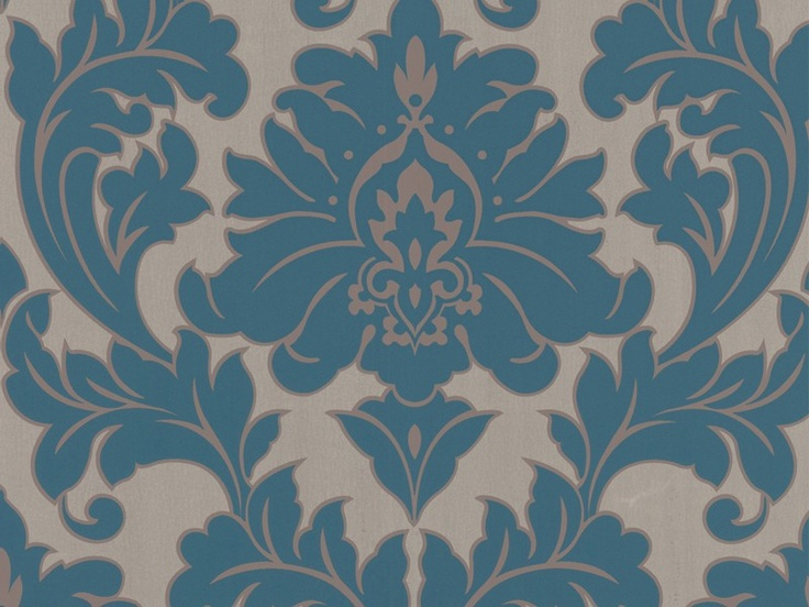 Wallpaper Inn Store - Majestic - Turqiouse R599