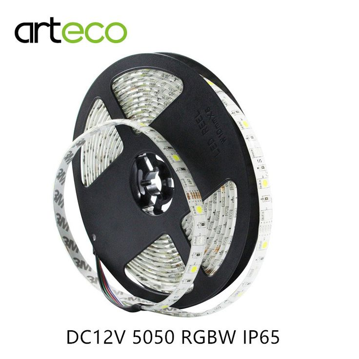 DC12V 5050 RGBW LED strip Lampu 60 LEDs/m 5 M IP65 waterproof 5050 strip DIPIMPIN RGBW/RGBWW fleksibel Cahaya stirp