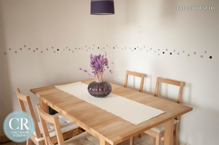Curly Rooms Interiors - Dotty wall deco