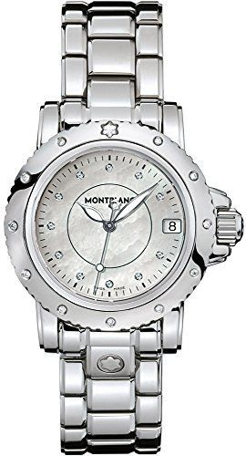 #diamondwatches #diamondwatchesformen #sportwatches Montblanc Sport Lady Quartz Watch 102362 Check https://www.carrywatches.com