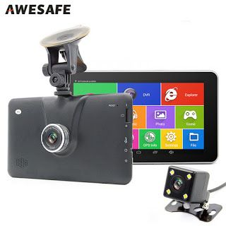 7 inch Android Car GPS Navigation 16GB with Rearview camera Car dvrs Vehicle gps Navigator Quad-core Bluetooth AVIN sat nav (32428307708)  SEE MORE  #SuperDeals