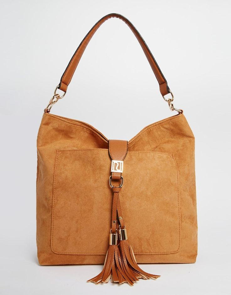 ASOS 45€ - River+Island+Slouch+Bag+with+Tassels+Detail