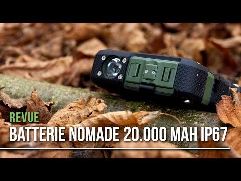 Batterie nomade outdoor : Review du EasyAcc 20000mAh Rugged Power Bank - Survival Gear