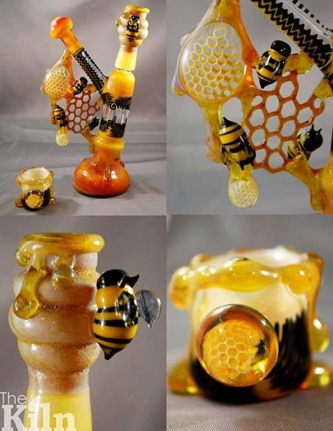 #bees - The Kiln---Super fresh, would love to smoke out of this thing