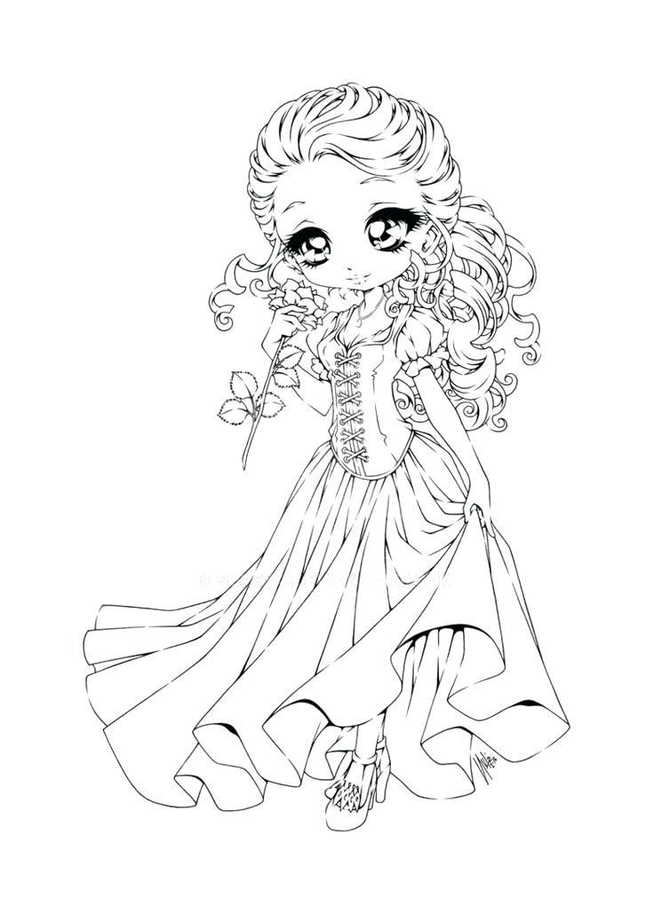Chibi Coloring Sheets Chibi Coloring Pages Unicorn Coloring Pages Princess Coloring Pages