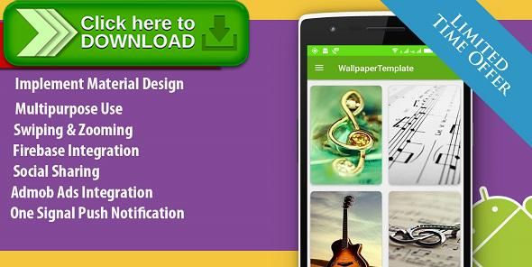 [ThemeForest]Free nulled download HD Wallpaper Multipurpose Android App With CMS Admin Panel from http://zippyfile.download/f.php?id=45152 Tags: ecommerce, android, android application, cms admin, dynamic, firebase push notification, hd, mobile application, one Signal notification, WallPaper App, with ad