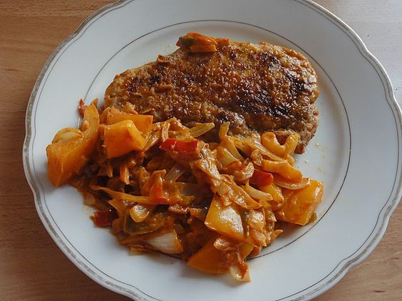 Nickys Zigeunerschnitzel (Rezept mit Bild) von Nicky0 | Chefkoch.de