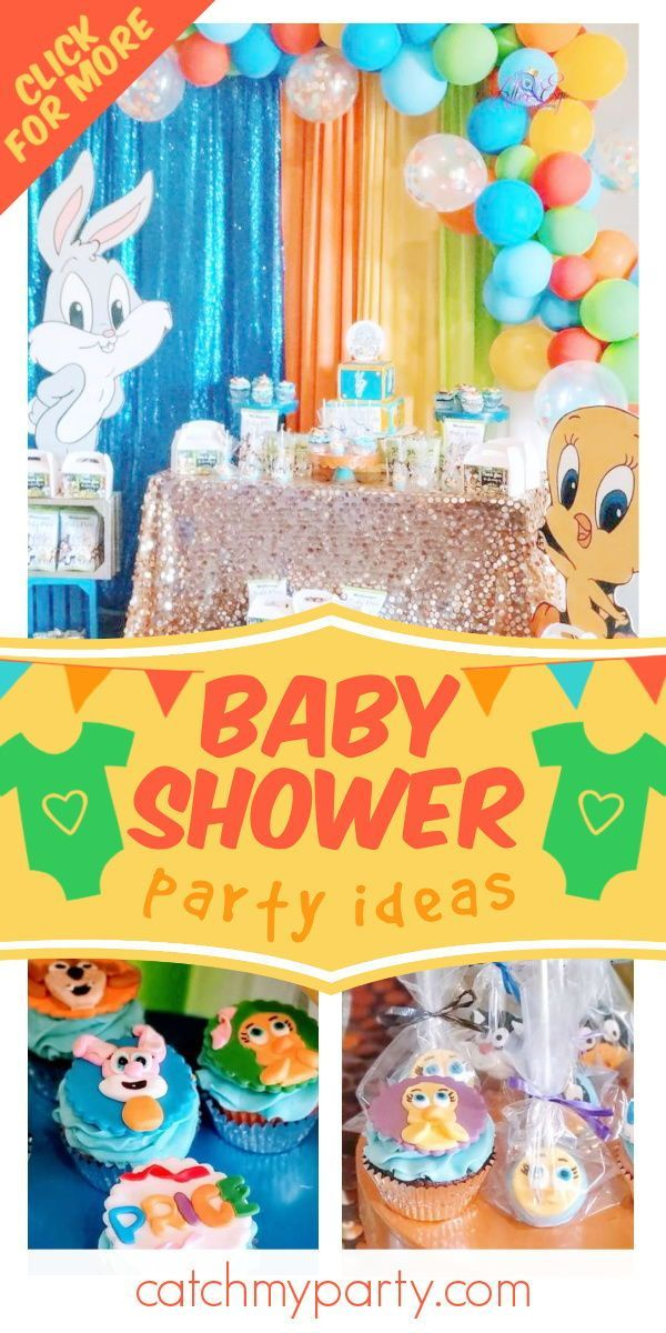 Baby Looney Toons Baby Shower Theme : looney, toons, shower, theme, Looney, Tunes, Shower,