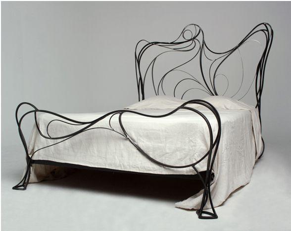 "micasaessucasa: "" St. Germane Bed by Tripoli Designs """