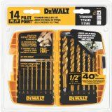 DEWALT DW1354 14-Piece Titanium Drill Bit Set Reviews - http://tonyspowertools.net/dewalt-dw1354-14-piece-titanium-drill-bit-set-reviews/