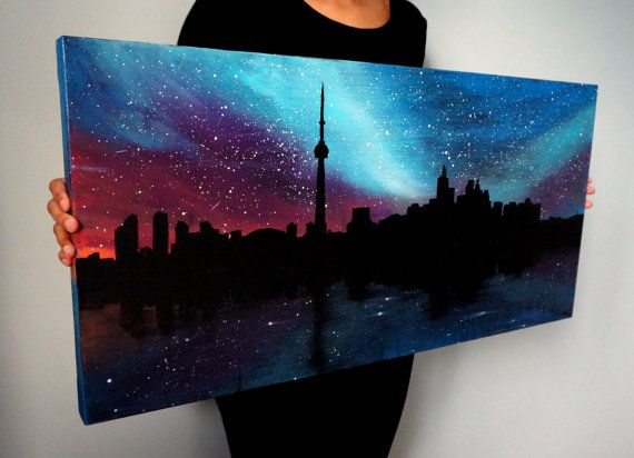 acrylic canvas painting