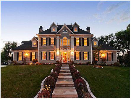 Luxury Master Bedrooms in Mansions | New England Style Mansion in Murray, Utah | Luxury Utah Homes