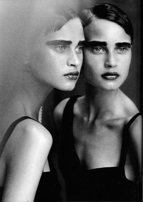 Natalia Semanova by Peter Lindbergh for Vogue Italia 1997