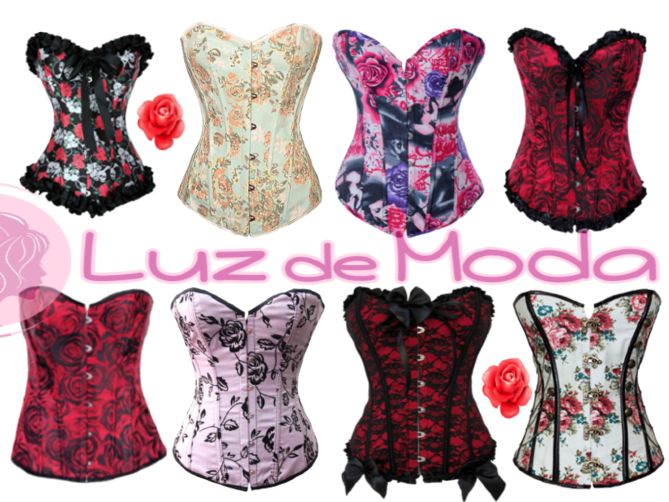 Corses de Rosas ¿Con cuál te quedas?  http://www.luzdemoda.es/es/corses/todos