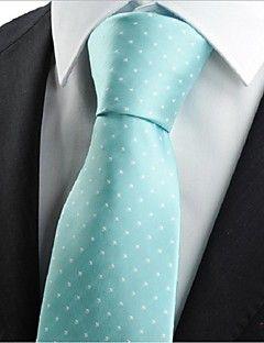 Slips ( Blå , Polyester ) Prikker