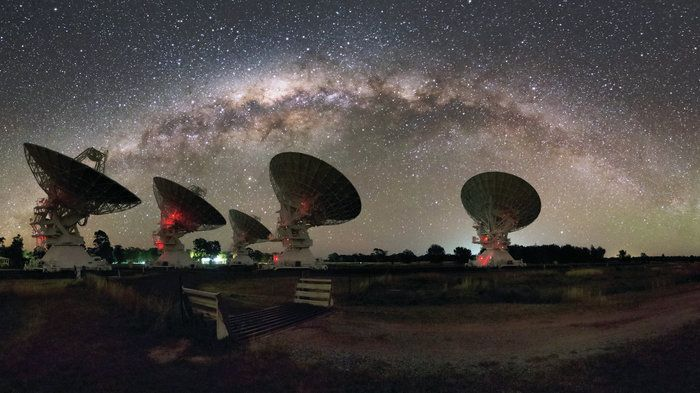 In A Far-Off Galaxy, A Clue To What's Causing Strange Bursts Of Radio Waves