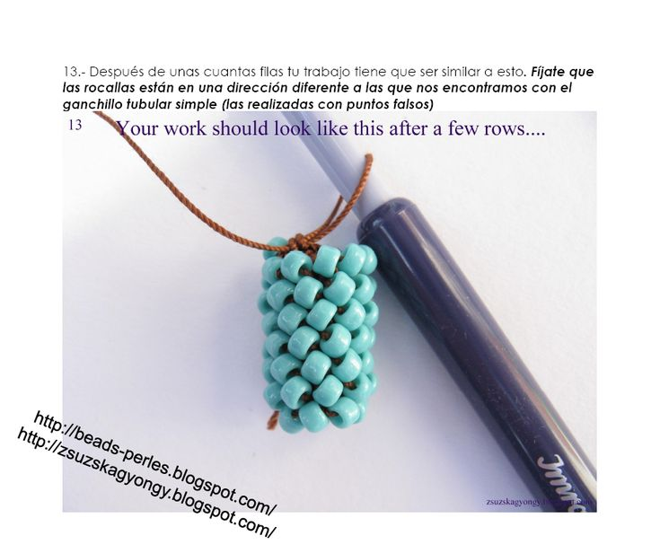 17 best images about bead crochet tutorials on