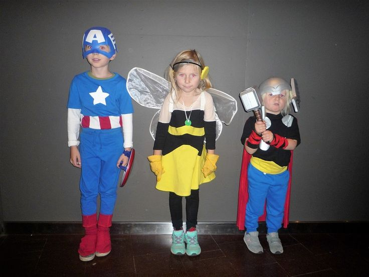 Thor, Wasp and Thor costumes - Avengers Earths Mightiest Heros - Kara Creations