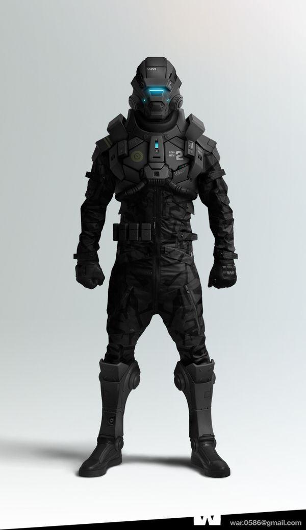 WAR : Character Design