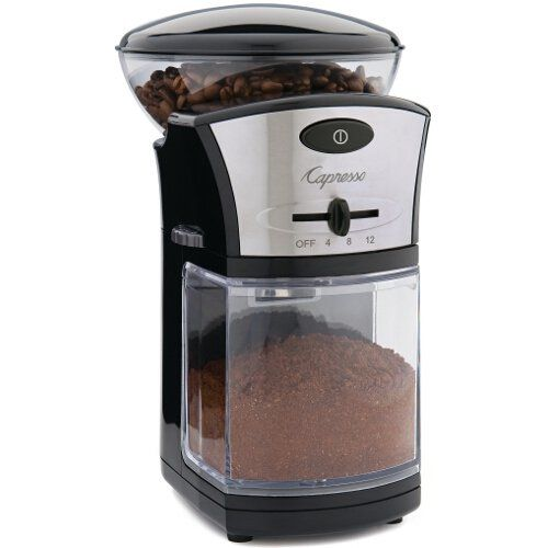 Capresso Coffee Burr Grinder - Commute Coffee