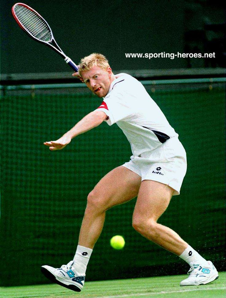 Boris Franz Becker (born 1967) is a former World No. 1 professional tennis player from Germany. He is a six-time Grand Slam singles champion, an Olympic gold medalist in doubles, & the youngest-ever winner of the men's singles title at Wimbledon at the age of 17. Becker also won five major indoor championship titles including three ATP Masters World Tour Finals (played eight finals, second all-time to Ivan Lendl, who played nine) & one WCT Finals & one Grand Slam Cup.