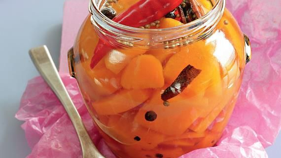 Маринованная тыква с пряностями. Пошаговый рецепт с фото на Gastronom.ru