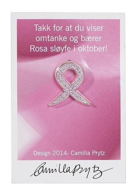 Rosa sløyfe m/strass fra Mestergrønn. Om denne nettbutikken: http://nettbutikknytt.no/mestergronn-no/