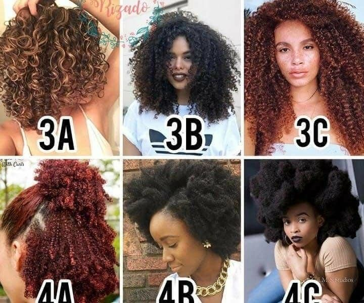 The Hair Type Chart Discover Your Hair Type Hair Type Chart Natural Hair Types Natural Hair Styles