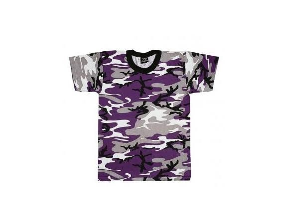 Purple Camo T-Shirt | Vermont's Barre Army Navy Store