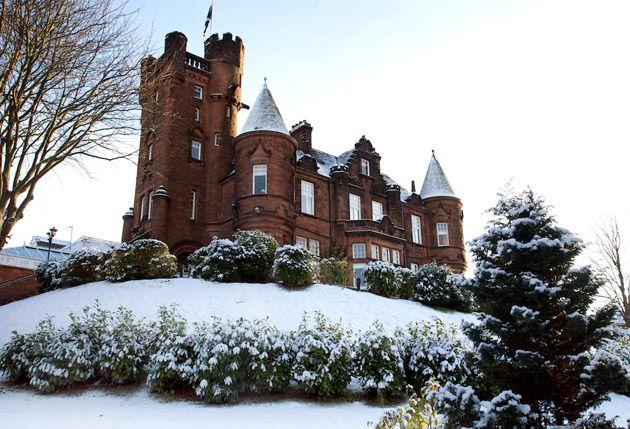 Sherbrooke Castle Scottish Wedding Venue #HSamuelWinterWeddings