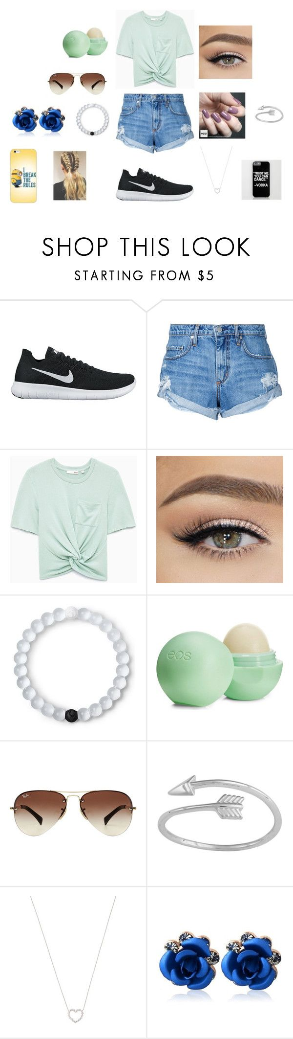 """""""Day out"""" by jeorgiak22 on Polyvore featuring beauty, NIKE, Nobody Denim, Zoya, Lokai, Eos, Ray-Ban, Midsummer Star and Tiffany & Co."""