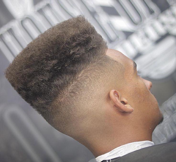 Black Men High Top Fade haircut 2017