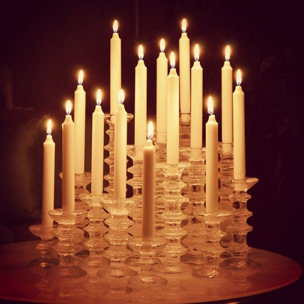 Iittala Festivo My absolute favorite candle holder. Love it! And it does look…