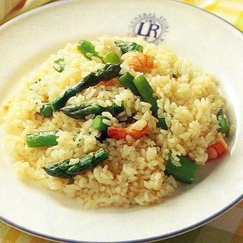 アスパラピラフ   葛西麗子さんのごはんの料理レシピ   プロの簡単料理レシピはレタスクラブニュース