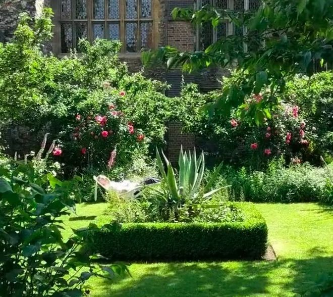 Visit This Olde English Garden Lying In The Shadow Of The Barbican