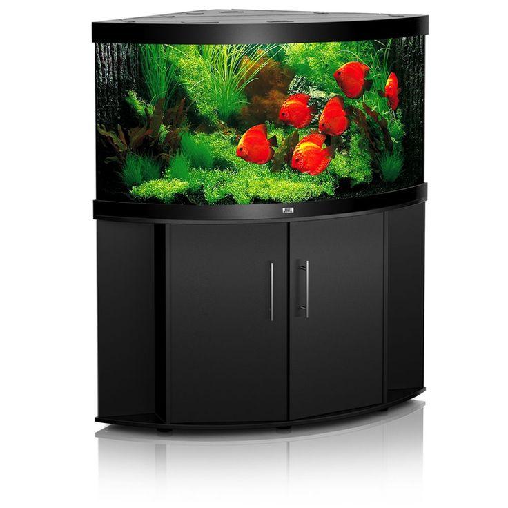 Animalerie  Ensemble aquarium/sous-meuble Juwel Trigon 350  marron foncé