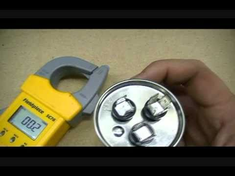 How to check capacitors, standard, dual and mars