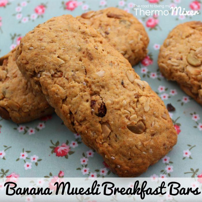 Banana Muesli Breakfast Bars