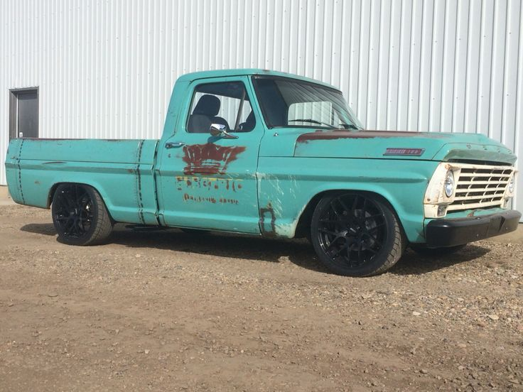 1967 Ford f100 4.6l swap from 03 crown Vic
