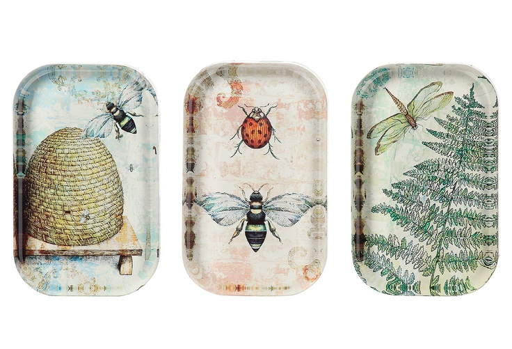 One Kings Lane - The Delightful Desk - Bee Paperweights, Assortment of 3